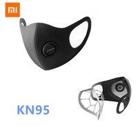 Xiaomi mijia smartmi anti haze kn95 máscara protetora protetora profissional pm2.5 máscara haze de xiaomi youpin Controle remoto inteligente     -