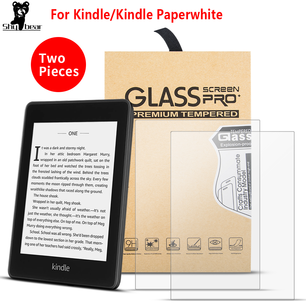 Screen Tempered Glass For Kindle Paperwhite 2016 2018 For Kindle 10th 2019 For Kindle 4 Kindle 5 6 Protector Film
