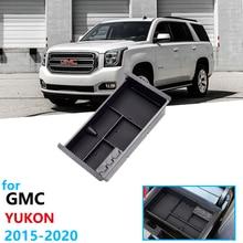 Автомобильный Органайзер аксессуары для GMC Yukon подлокотник коробка для хранения средства ухода копилку K2UC/G