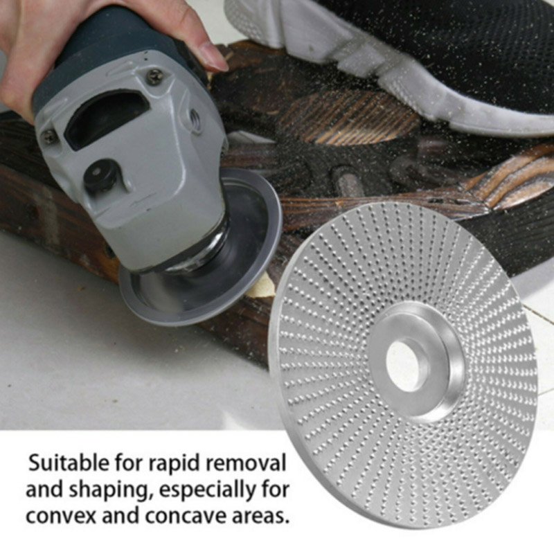 Wood Tungsten Carbide Grinding Wheel Sanding Carving Tool Abrasive Disc For Angle Grinder Can CSV