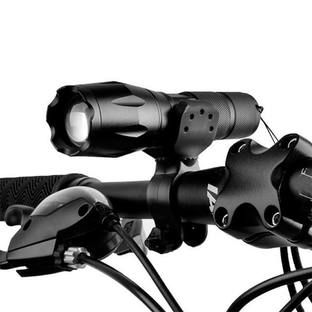 Suporte de luz da bicicleta lanterna titular montagem anti skid bicicleta luz tocha clipe montagem ciclismo lanterna suporte acessórios da bicicleta 6