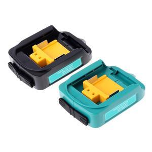 Dreamburgh USB Charger Adapter Converter For Makita ADP05 BL1815 BL1830 BL1840 BL1850 Li-ion Battery 14.4-18V Power Adapter