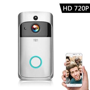 1080P Video Intercom Wireless Video Door Phone Visual WI-FI Door Bell WIFI Doorbell Camera for Apartments IR Alarm Security 9