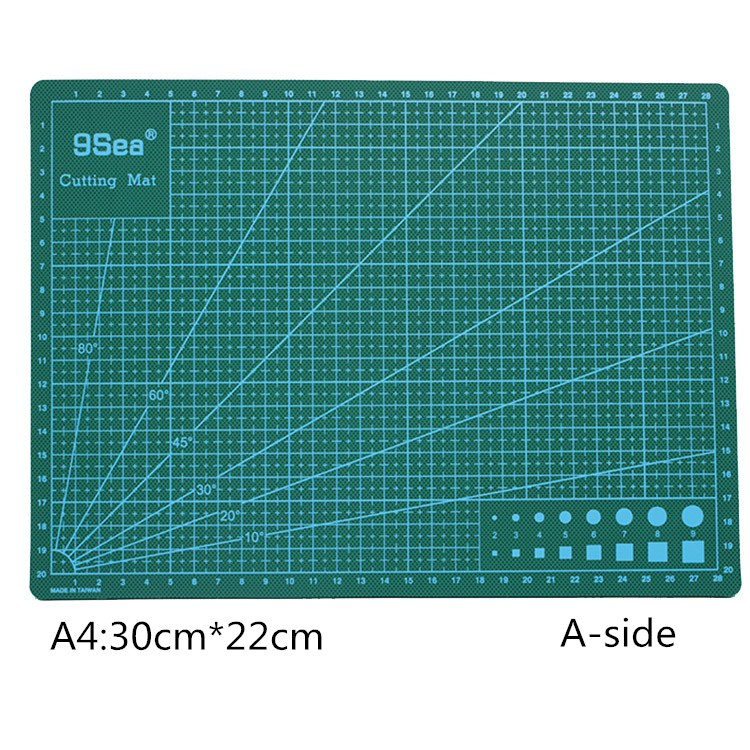 A4pvc Advanced Rectangular Grid Wire Cutting Pad Tool Plastic Cutting Plate Pad Double Cutting Pad Process DIY Cutting Tool