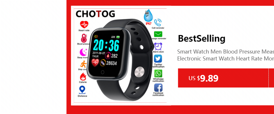 H6f7a1735c96b40bbab0cf3887afdfdc2H Fitness Bracelet Blood Pressure Measurement Waterproof Smart Band Bracelet Watch Fitness Tracker Heart Rate Activity Tracker