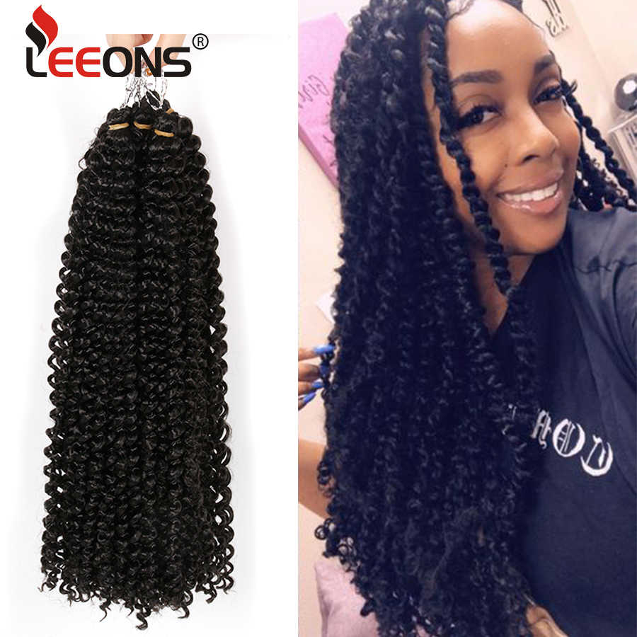 Leeons Ombre Pion Twist Crochet Hair