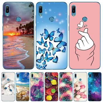 For Huawei Y6 2019 Case Silicon Soft TPU Phone Case For Coque Huawei Y6 Prime 2019 Case Cover Y 6 2019 6Y Fashion Slim Fundas image