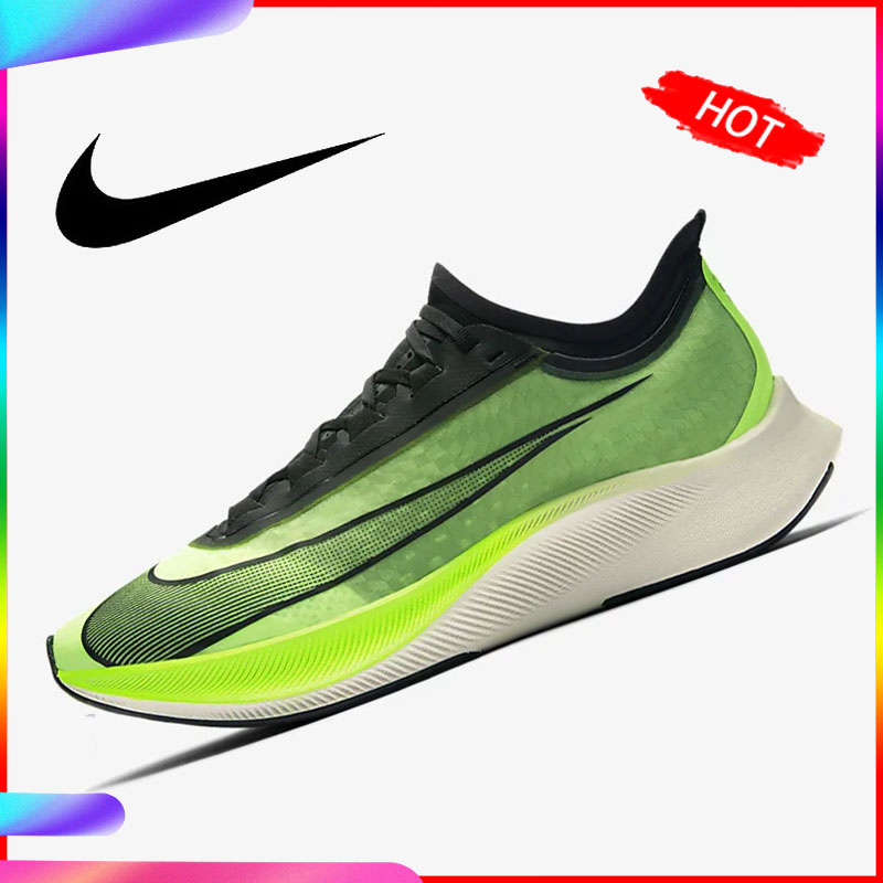 Original Nike Zoom Fly 3 Men Running Shoe Sneakers Sport Outdoor Flaps Cushioning And Breathable Comfortable 2019 New AT8240-300