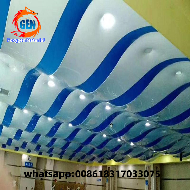 Blue Sky Ceiling Design For Pvc Wall And Panel Covering