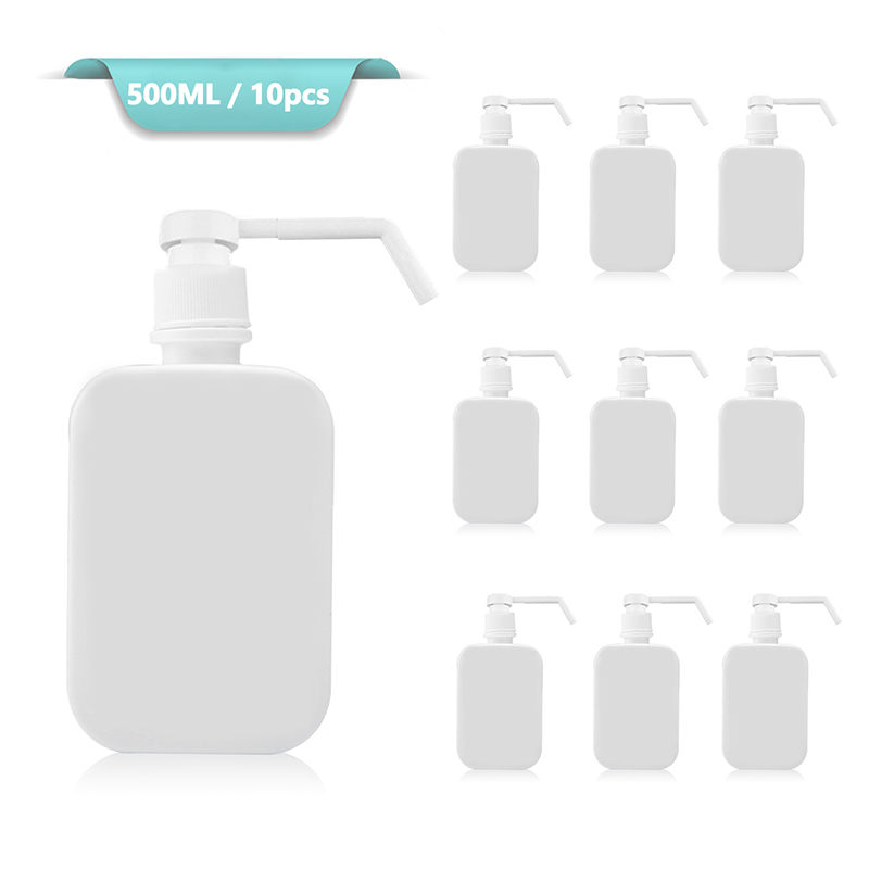 Alcohol Foam Pump Bottle 500ml Spray Bottles Soap Foaming Mousses Liquid Cosmetic Dispensers Travel Home For Children's Health