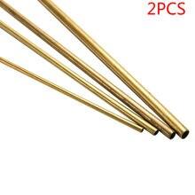2 parça çapı 2mm / 3mm / 4mm / 5mmBrass tüpler pirinç boru pirinç boru uzunluğu 30cm duvar kesme aracı parçaları