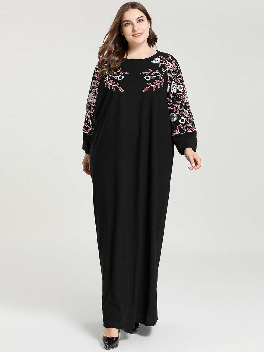 Abayas For Women Black Abaya Kaftan Dubai Turkish Hijab Muslim Dress Caftan Robe Islam Arab Qatar Islamic Clothing Dresses