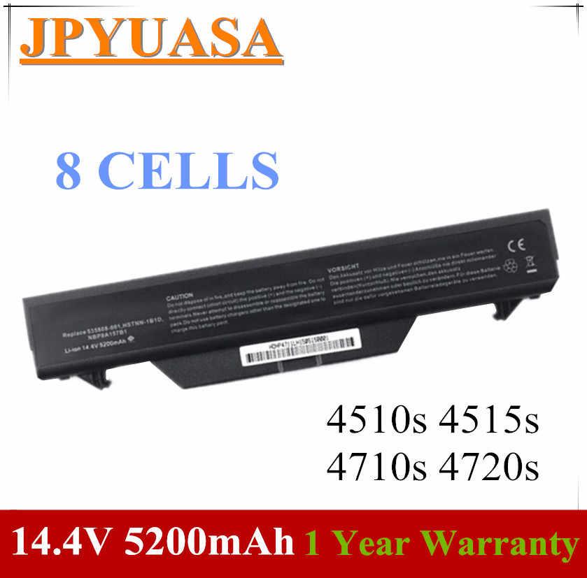 JPYUASA 5200mAh Battery For HP ProBook 4510s 4515s 4710s 4720s HSTNN-IB89  HSTNN-IB88 HSTNN-OB89 HSTNN-OB88 HSTNN-LB88 HSTNN-XB89