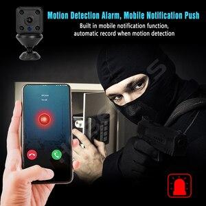 Image 5 - Hebeiros 1080P taşınabilir Mini IP kamera manyetik taban 2MP pil Wifi kamera gece görüş ses kayıt güvenlik güvenlik kamerası