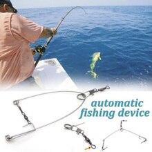 Высокое качество, 5 шт., крючок из нержавеющей стали, триггер, пружинный рыболовный крючок, сеттер, приманка, кусачки, крючок, ловля рыбы, автоматически