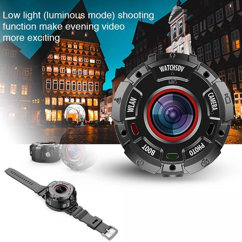 S222 HD 1080P носимая IP68 Водонепроницаемая Пыленепроницаемая Противоударная Спортивная камера с магнитной функцией