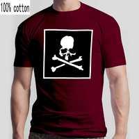 NOVEDAD DE VERANO cerebro Japón cráneos estampada de cuello redondo T camisas de algodón de los hombres pantalón corto Casual manga T camisa, negro, blanco