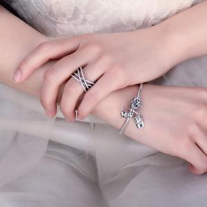 Image 4 - Jewelrypalace Bạc 925 Đan Xen Vào Nhau Tuyên Bố Vòng Như Beatiuful Trang Sức Mới Bán Cho Nữ Quà Tặng Tốt Nhất