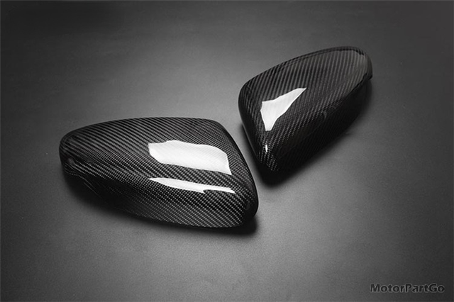 Real Crabon Fiber Mirror Cover Exchange original 1 pair for  KIA K3 without lamp  2014-2017 T251M 3