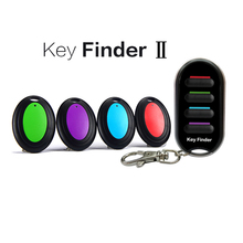 Wireless Key Finder Anti-lost Alarm Keychain LED Flashlight for Key Purse Pet Luggage RF Key Locater Item Tracker DZGOGO стоимость