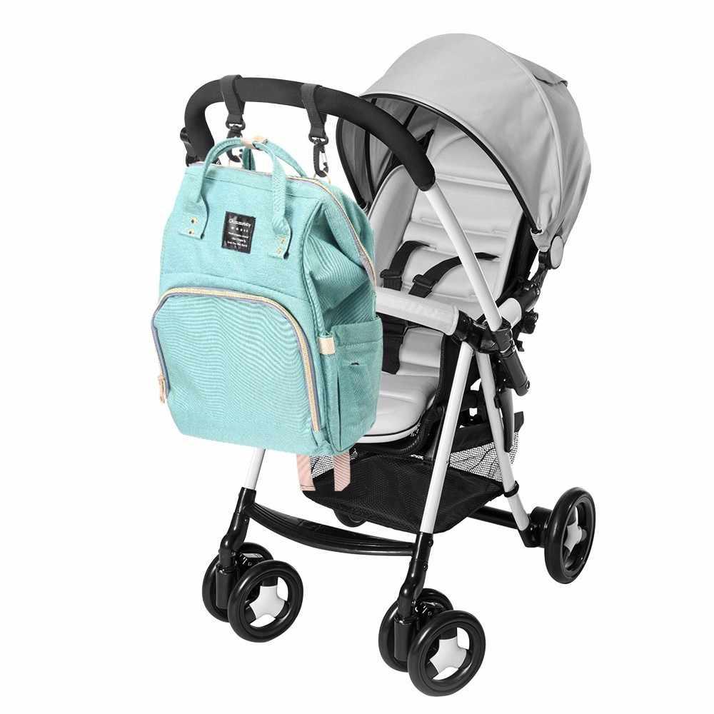 2 stücke Sicherheit Kinderwagen Zubehör Haken Rollstuhl Kinderwagen Pram Tasche Haken Baby Kinderwagen Einkaufstasche Clip Kinderwagen Zubehör