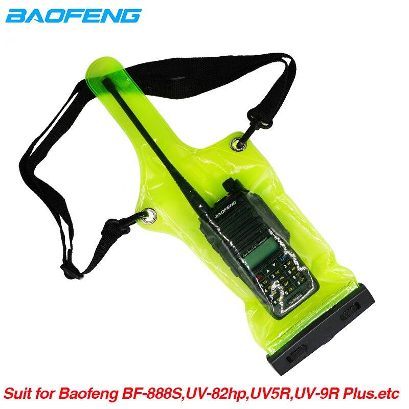 IP67 Waterproof Bag Case Pouch For Motorola Kenwood Baofeng UV-5R UV-82 UV82hp UV-9R Plus BF-888S Walkie Talkie Rainproof Bag