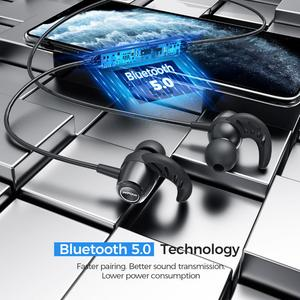 Image 2 - MPOW S16 מגנטי אלחוטי אוזניות IPX7 עמיד למים Bluetooth 5.0 ספורט אוזניות עם 12H למשחק עבור iPhone 11 Xiaomi סמסונג
