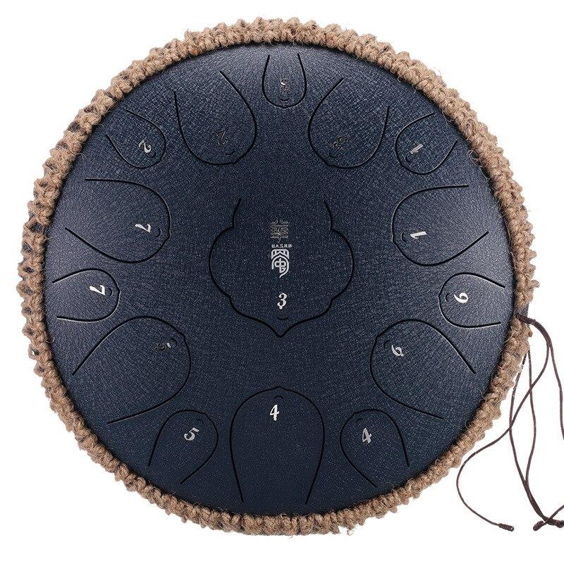 12 pouces 15 ton tambour portable réservoir tambour Instrument de Percussion Yoga méditation débutant mélomanes cadeau main Pan éthérée tambour | AliExpress