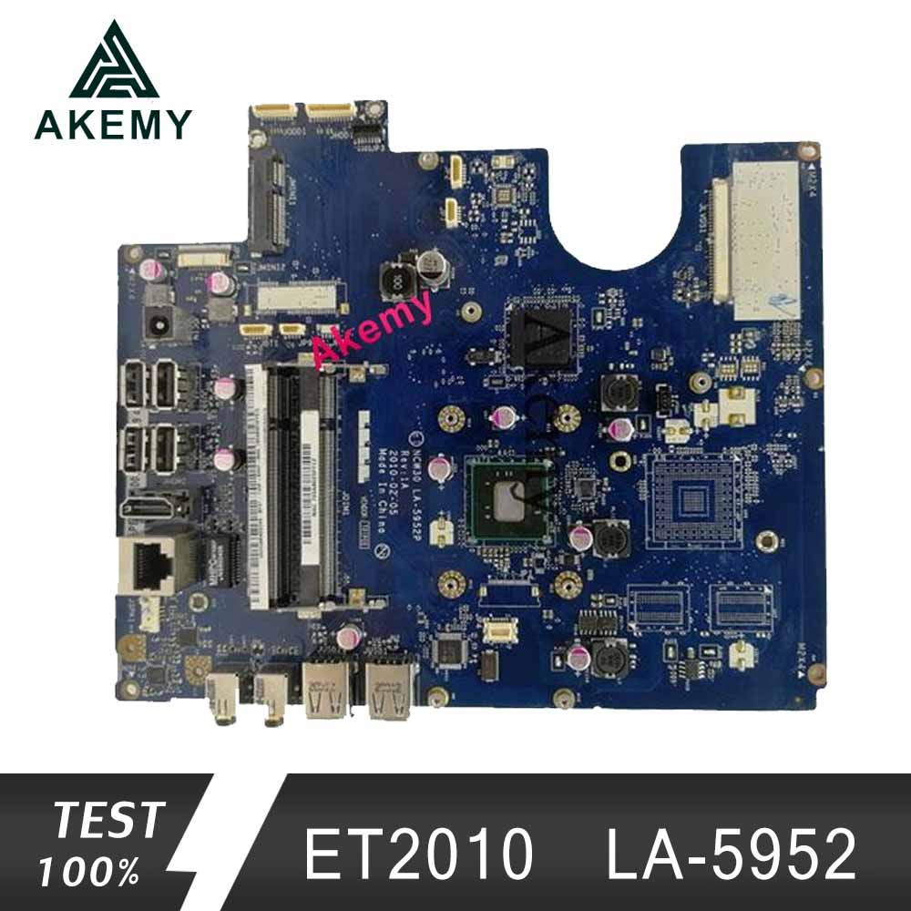 Akemy Original All-in-one Motherboard For ASUS ET2010P ET2010 LA-5952 Mainboard 100% Test Ok Works GM
