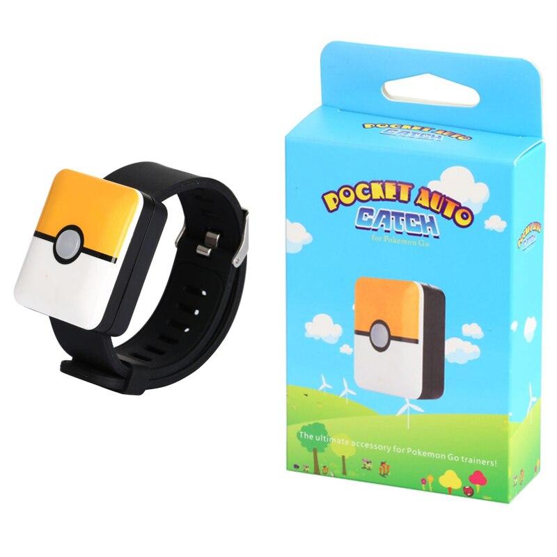For Auto Catch Pokemon Go Plus Bluetooth Bracelet wtih Rechargeable Square Bracelet Go Plus Auto Catch Pokemon Go