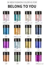 36 cores rosto corpo cabelo olho brilho pigmentos highlighter solto shimmer pó brilho maquiagem alto brilho flash tslm1