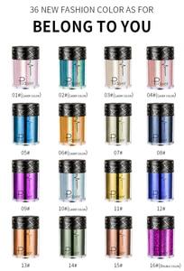 36 Colors Face Body Hair Eye Glitter Pigments Highlighter loose Shimmer Powder Glitter Makeup High Gloss Flash TSLM1