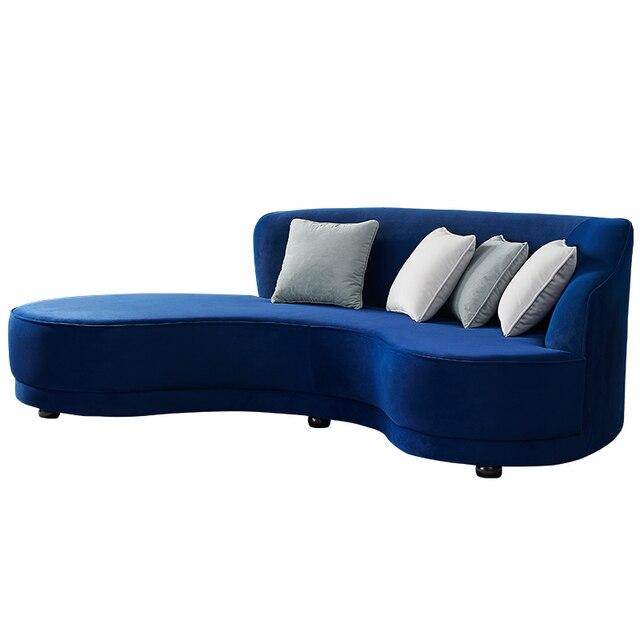 Velvet Living Room Sofa  1