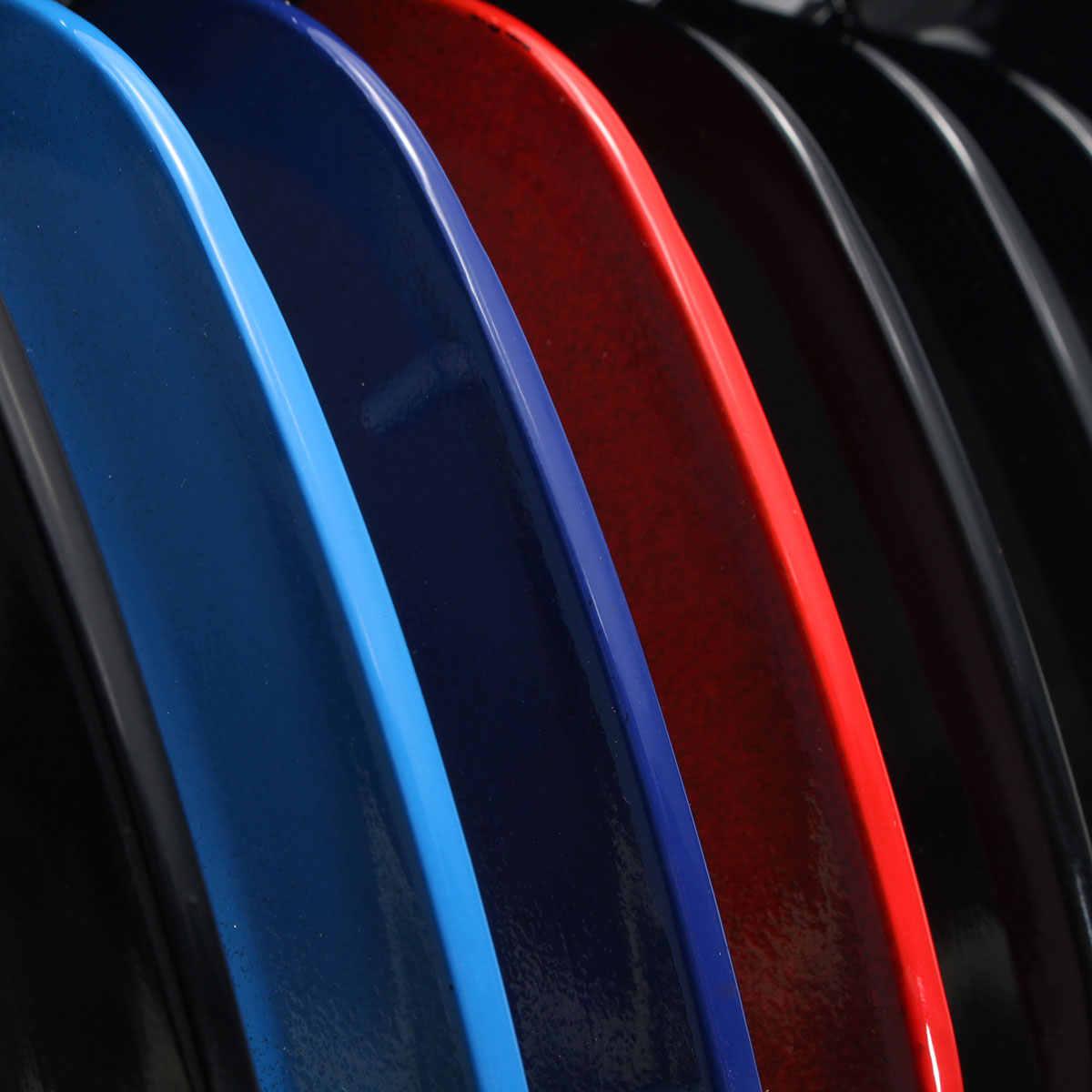 Gorąca para M kolor ABS plastikowe przednie sportowe nerek zderzak kaptur kratki maskownica do BMW E38 740i 740iL 750iL 4Dr 1999 2000 2001