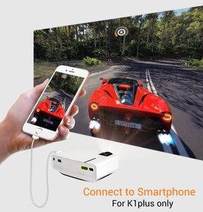 Image 2 - BYINTEK K1plus taşınabilir ev sineması Mini 1080P Video oyunu LED projektör Beamer Proyector için Smartphone 1080P 3D 4K sinema