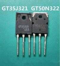2 шт./лот 1 шт. GT35J321 + 1 шт. GT50N32 2TO-247 50N322 50N321 TO-3P Хорошее качество Новый оригинал