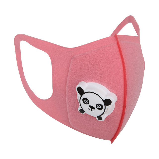 Baby Kids Protective Mask Children Cartoon Print Mouth Cover Dustproof Breathable Face Nose Filter Cover 4