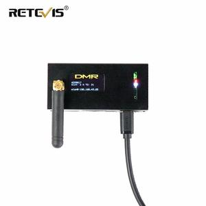 Image 1 - Modem digital retevis mmdvm, rádio amador walkie talkie montar, wi fi, hotspot, dmr, raspberry pi oled