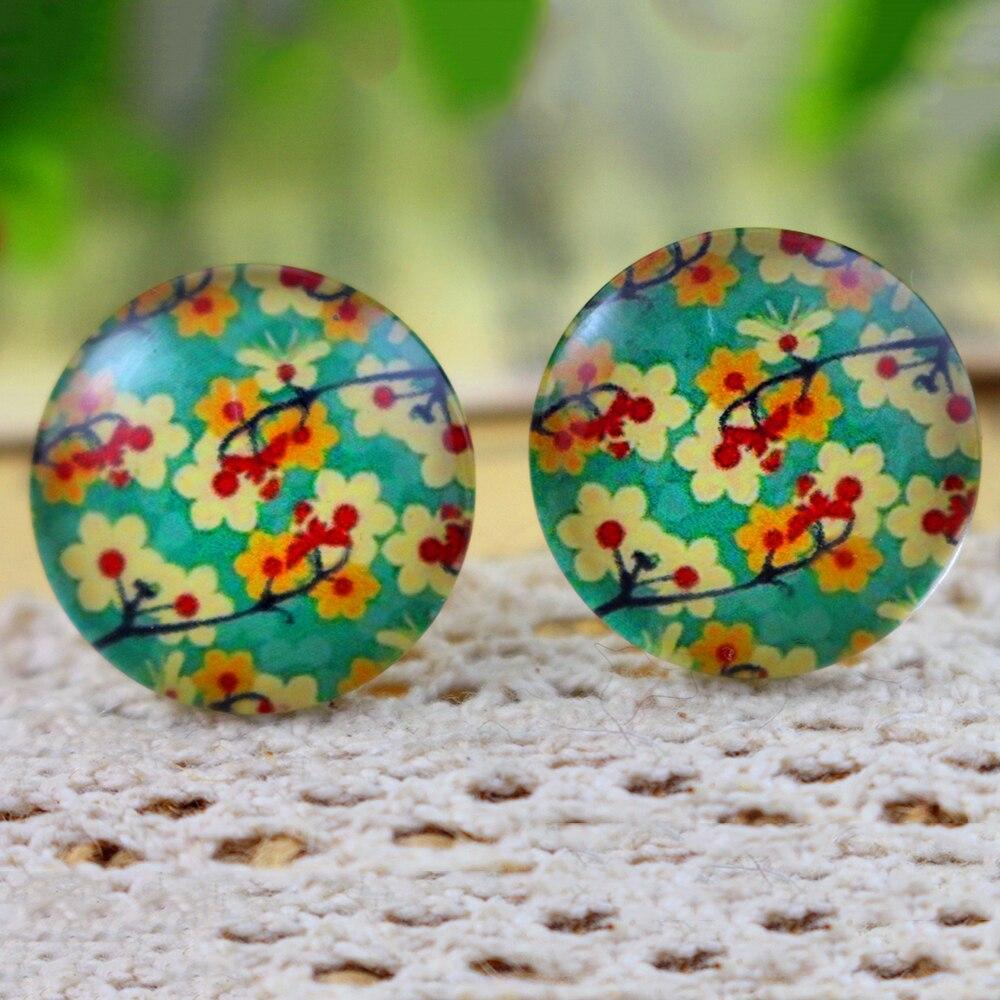 2018 Hot Sale 10pcs 20mm Handmade Photo Glass Cabochons  (H2-66)