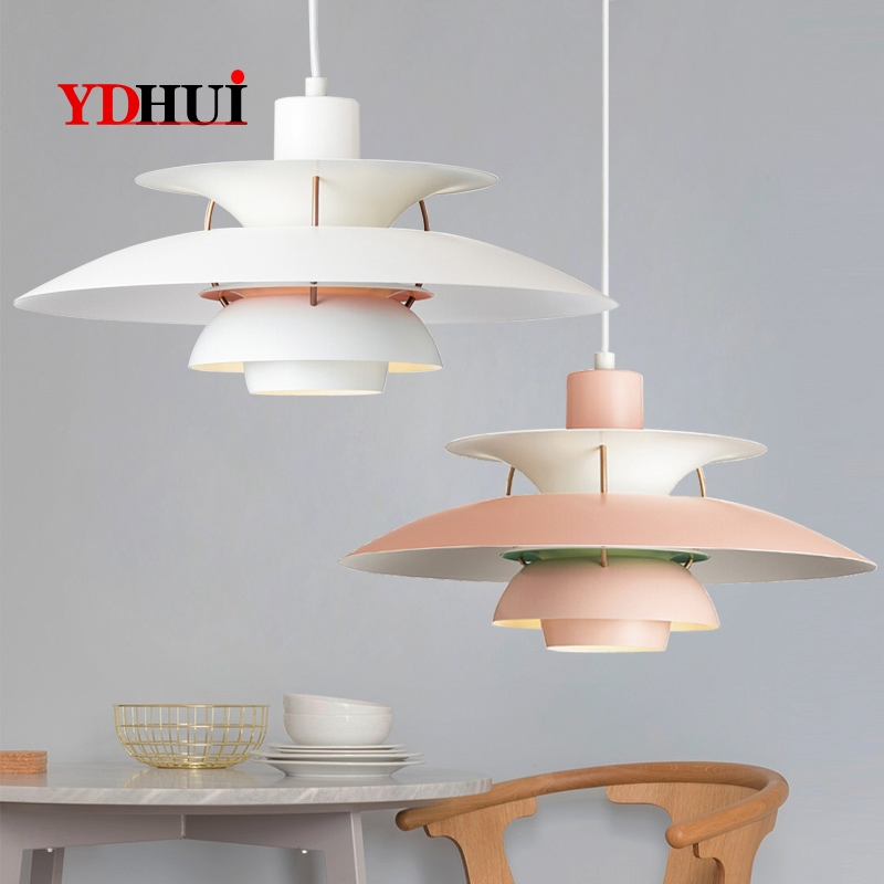 Danish Louis Poulsen PH5 Chandelier Dining Hall Chandelier Concise Modern Atmospheric Decorative Chandelier