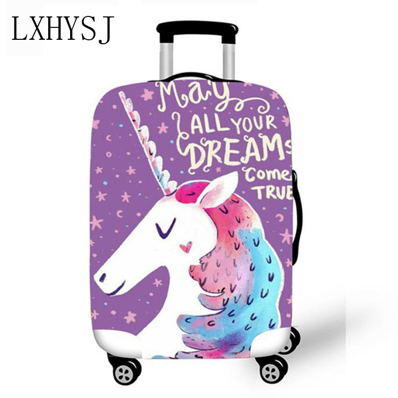 Elasticity Luggage Protective Covers Animal Pattern Luggage Cover Suitable For 18-32 Inch Suitcase Case Travel Accessories