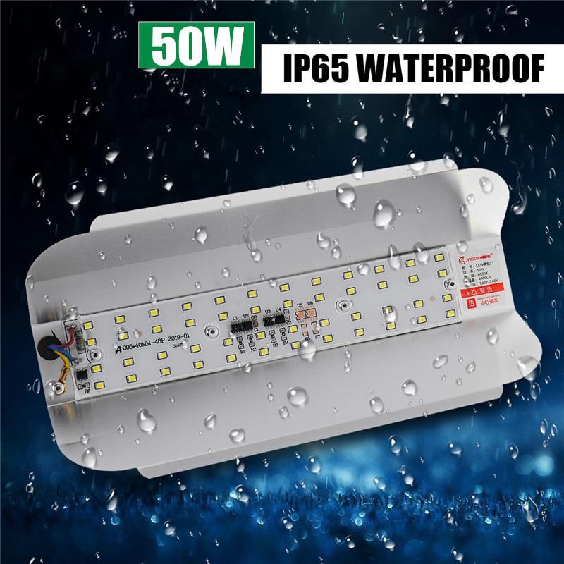 50W IP65 Waterproof Floodlights Outdoor LED Flood Light Street Lamp Landscape Lighting AC180 240V 6500K Floodlights     - title=