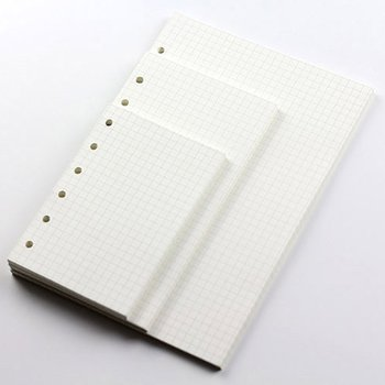 A5/A6/A7 Loose Leaf Notebook Refill Spiral Binder Planner Inner Page Inside Paper Dairy Weekly Monthly Plan Manual account book a5 notebook spiral filler papers index page loose leaf paper core hand book classification separate sub page planner refill