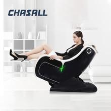 Chasall Casa Gravità Zero Sedia di Massaggio Riscaldamento elettrico Reclinabile Sedie Intelligente di Massaggio Completo Del Corpo di Massaggio Shiatsu Divano