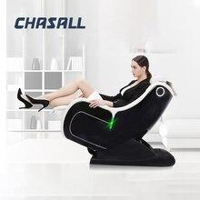 Chasall accueil chaise de Massage sans gravité chauffage électrique incliner les chaises de Massage du corps complet canapé de Massage Shiatsu Intelligent