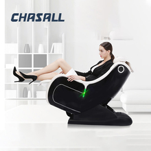Chasall casa zero gravidade cadeira de massagem elétrica aquecimento recline cadeiras massagem de corpo inteiro inteligente shiatsu sofá