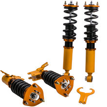 Coilovers Shock Kit for Nissan Silvia S13 180SX 240SX CA18DE SR20DET Coupe 89-98 Coilovers Suspension Absorber Spring Top Mount