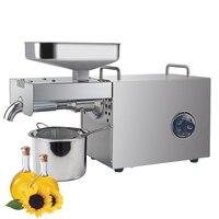 Automatic cold oil press machine high oil extraction rate oil extractor temperature control peanut coconut etc Oil Press Machine