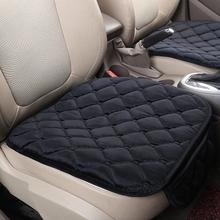 1 sztuka nowy pokrowiec na siedzenie samochodu mata Auto poduszka na przednie siedzenie pasuje większość pojazdów pokrowce antypoślizgowe utrzymać ciepłe pokrycie siedzenia samochodu tanie tanio LCRTDS Cztery pory roku Polyester CN (pochodzenie) 50cm Pokrowce i podpory 0 22kg Seat Covers Supports