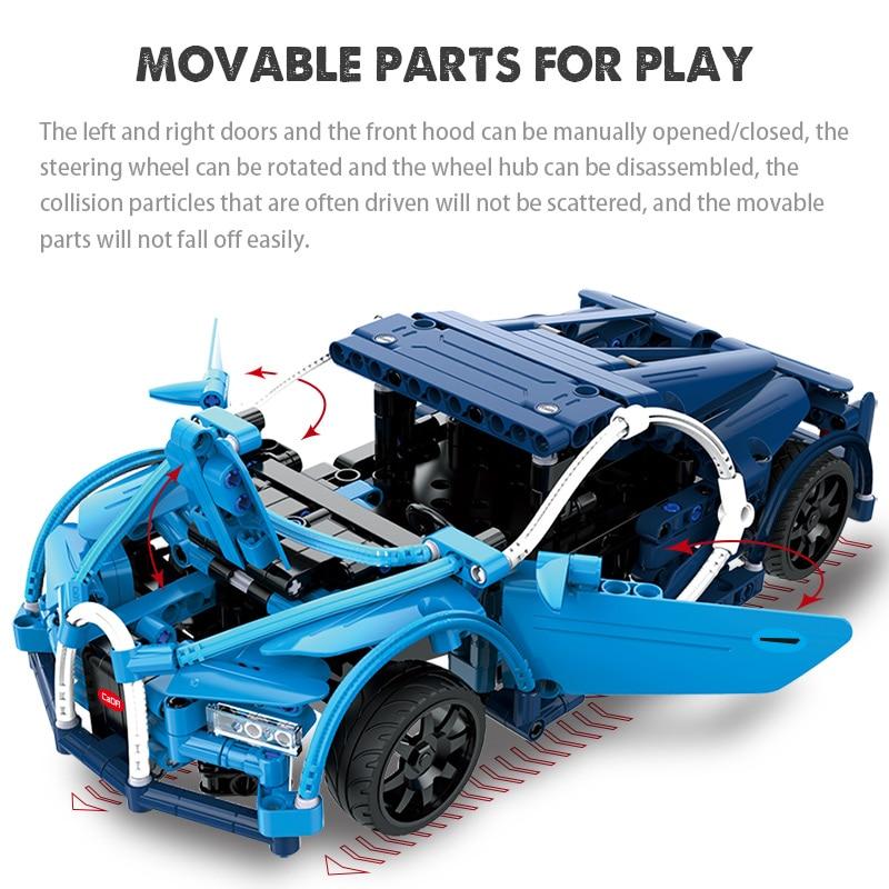 Cada C51018W RC Blue Sports Racing Cars